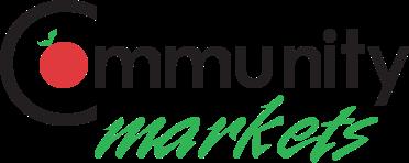 A logo of Community Markets